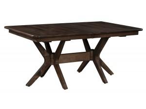Mid-Century Double Pedestal Table
