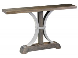 Buckle Base console Table