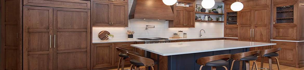 Custom Cabinets for every room.