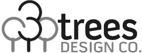 3 Trees Design Company logo