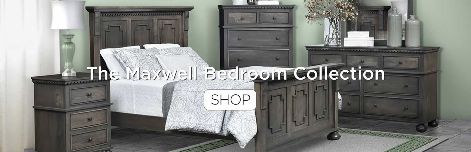 The Maxwell bedroom collection.